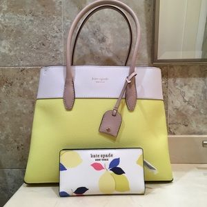 Kate Spade Satchel and Wallet Set
